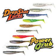Soft Rubber Lures 5cm Mix 02 Drop Shot Bait Perch Pike Fishing