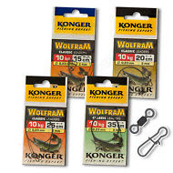 Wire-Trace-Leader-10kg-Wolfram-Tungsten-Perch-Pike-Sea-Soft-Lure-Fishing-Tackle