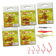 Drop-Shot-Hooks-Wide-Gap-Red-Perch-Fishing-Soft-Lures-Micro-Fish-Bait-Worms