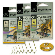 Streamer-Fly-Fishing-Hooks-Forged-Brown-Strong-Tying-Salmon-Trout-Dry-Wet-Scud