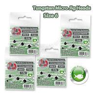 Micro-Jig-Heads-Tungsten-size-6-ECO-FRIENDLY-Drop-Shot-Fishing-LRF-Soft-Lure-Set
