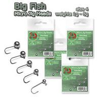 Micro Jig Heads size 4 1-6g Soft Lure Drop Shot Fishing