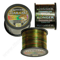 Carp Fishing Strong Line Camou Rainbow Color 1000m